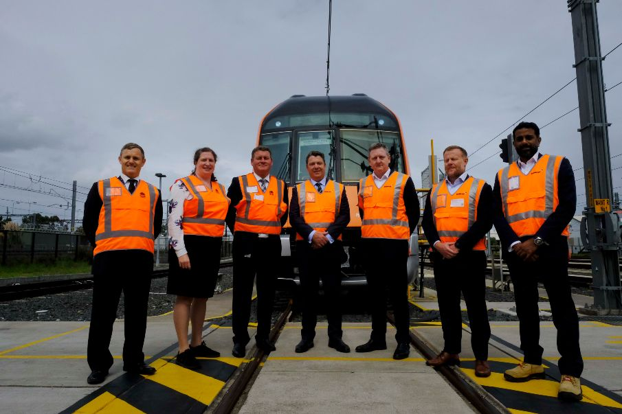 NSW Premier welcomes first Sydney Growth Train
