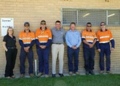 Wagga Wagga water team achieves 10 years MTI & LTI free