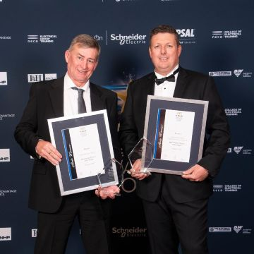 Downer wins two NECA awards