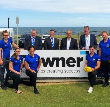 Downer partners with Williamstown Football Club