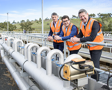 Sunbury Recycled Water Plant opens