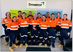New recruits start at Downer