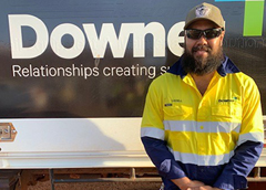 "Ladell's inspiring work journey: ""I grabbed my work boots, my bag and a tent and flew to Perth."""