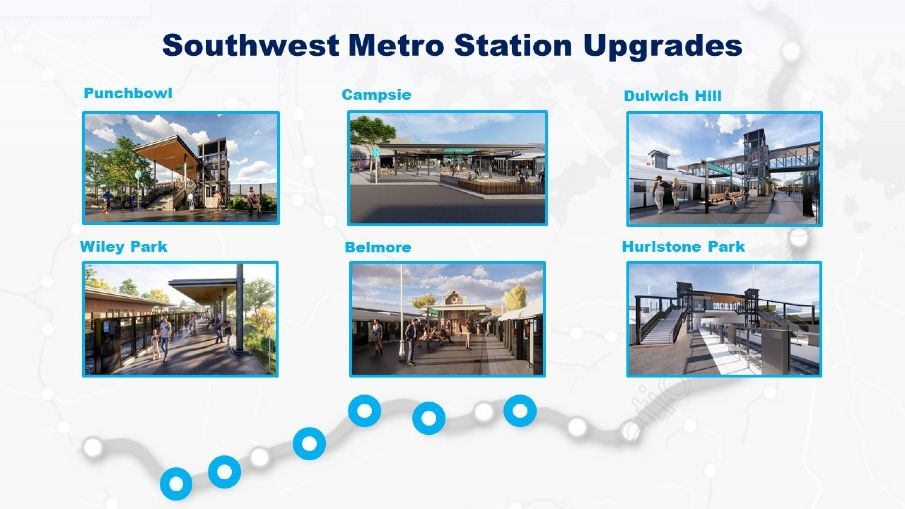 Downer to upgrade metro stations